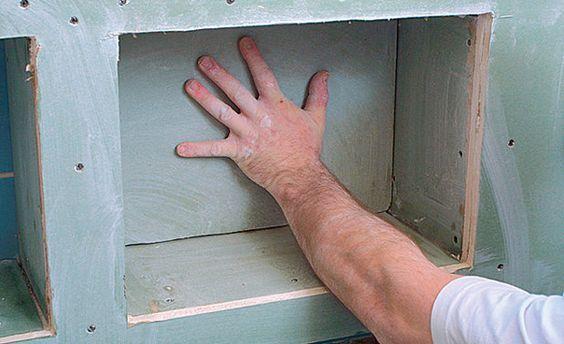 Bad-Ablage selber bauen - badezimmer selber bauen