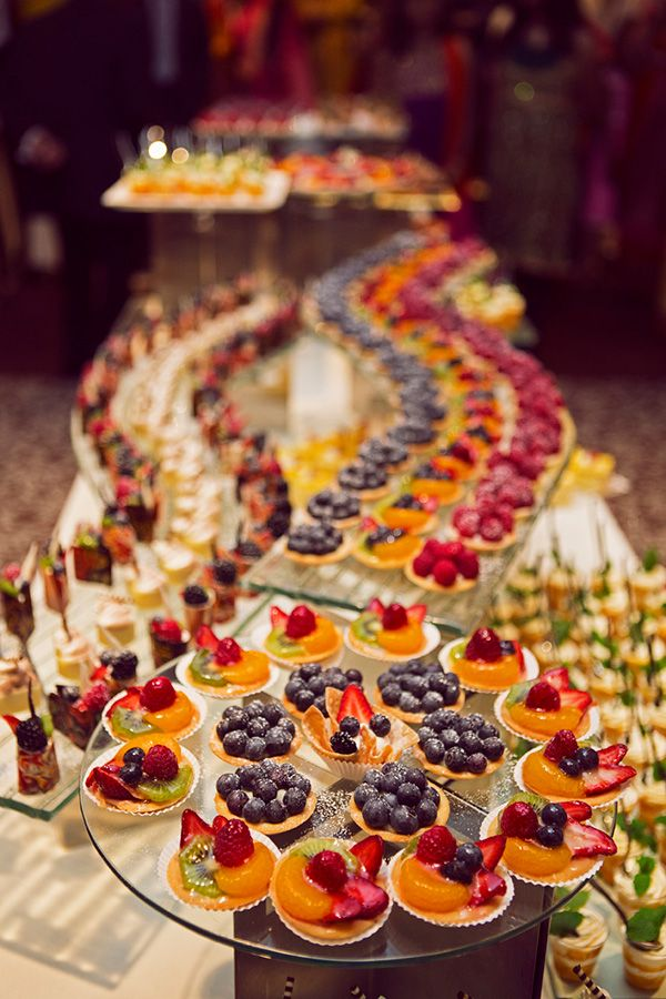 Vibrant Colorful Indian Wedding Unique Wedding Food Colorful