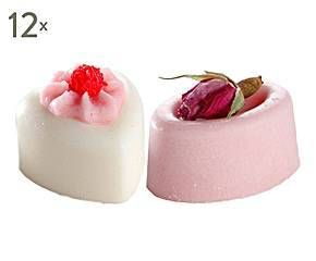 Set de 24 jabones de baño praliné Tender Rose