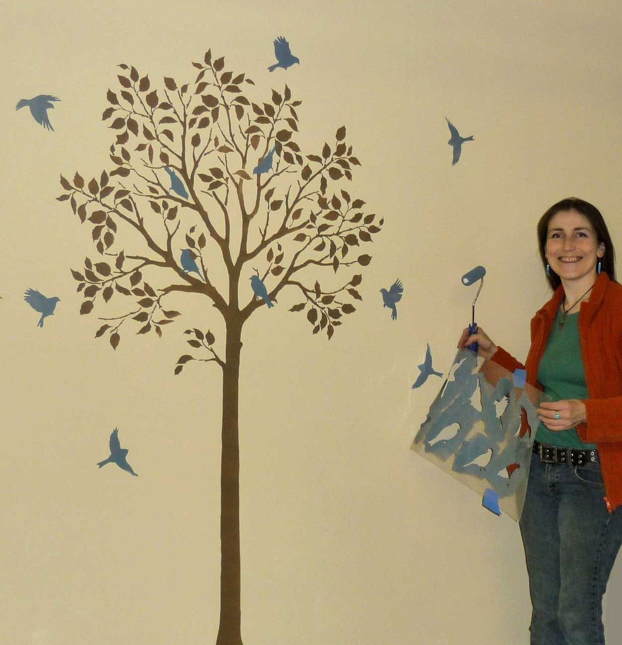 Stencils of trees for walls image collections home wall stencils of trees for walls gallery home wall decoration ideas stencils of trees for walls choice amipublicfo Gallery