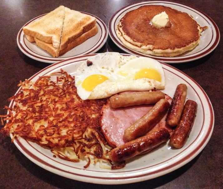 The 'Lumberjack Slam' At Denny's, North Vancouver, BC