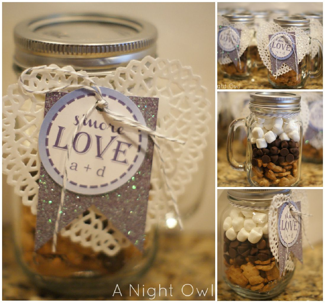 Great Inexpensive Wedding Gifts: {Great Gifts} S'more Love In A Jar