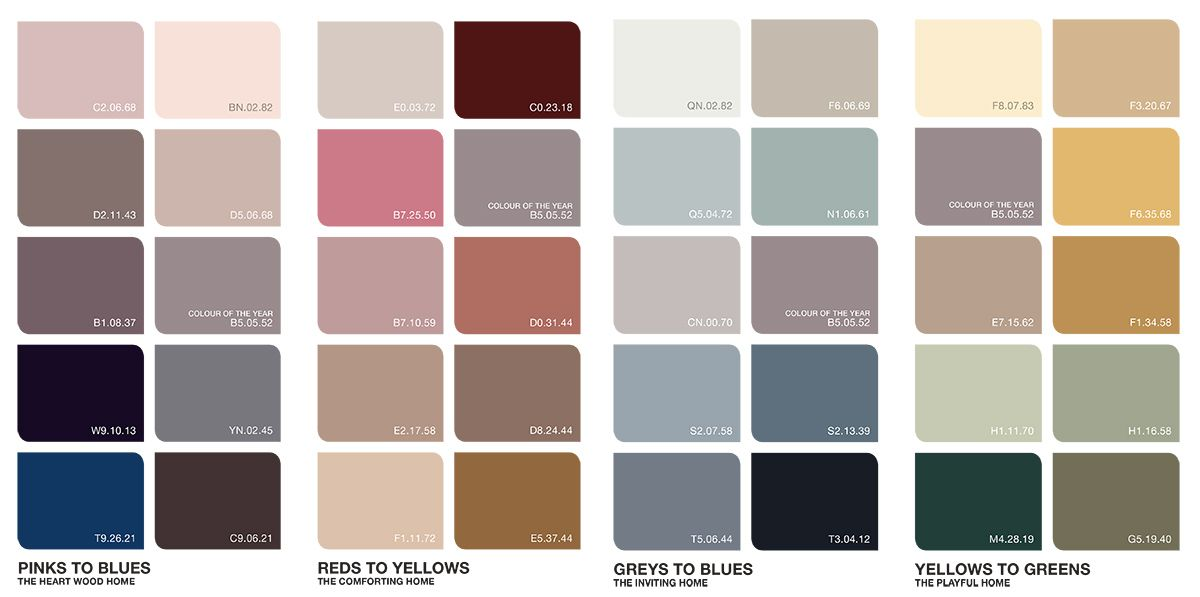 Heart Wood 2018 Color Of The Year Color Trends 2018 Color