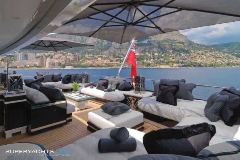 Luxury Motor Yacht Silver Angel  by Benetti