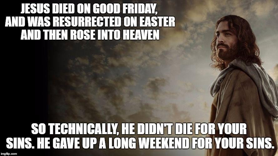 Pin On Good Friday Memes