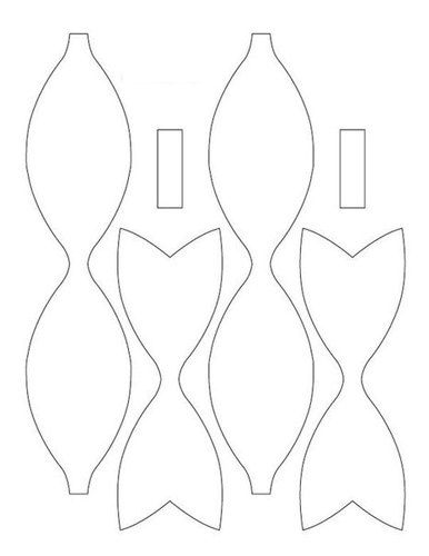 Molde de lazo en fieltro buscar con google pinteres hair bow pronofoot35fo Gallery