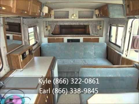 Youtube 1990 hi lo camping trailer original interior for Rimodellare i piani per la casa in stile ranch