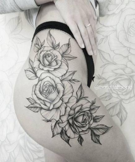 Blumen Tattoo Bein Sonnenblume 68 Ideen #flowertattoos – diy tattoo images #flowertattoos - flower tattoos