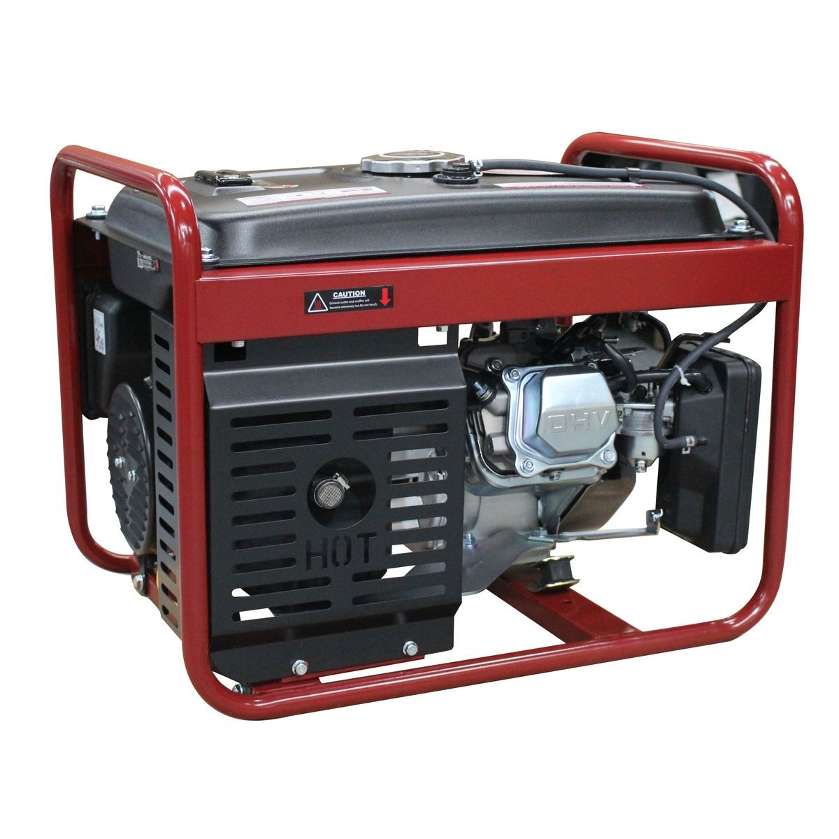 208cc Air Cooled Gas Powered 4000w Gasoline Generator Portable Inverter Generator Generation Emergency Power