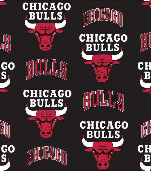 Chicago Bulls Fleece No Sew Tie Blanket by
