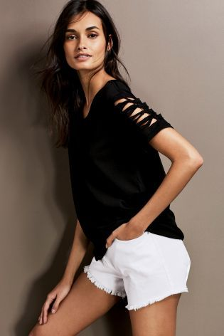 Buy Deconstructed Top online today at Next: Israel