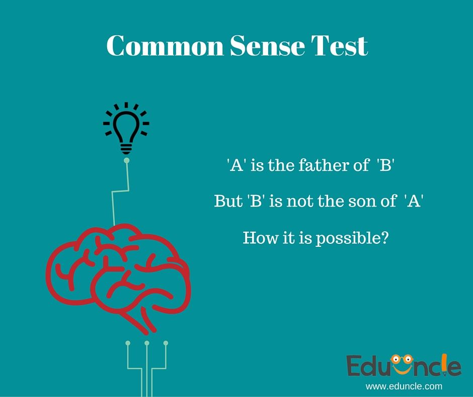 Test your ‪#‎commansense‬! If you are smart enough comment in less than 5 seconds..! Pin- pinterest.com/eduncleindia