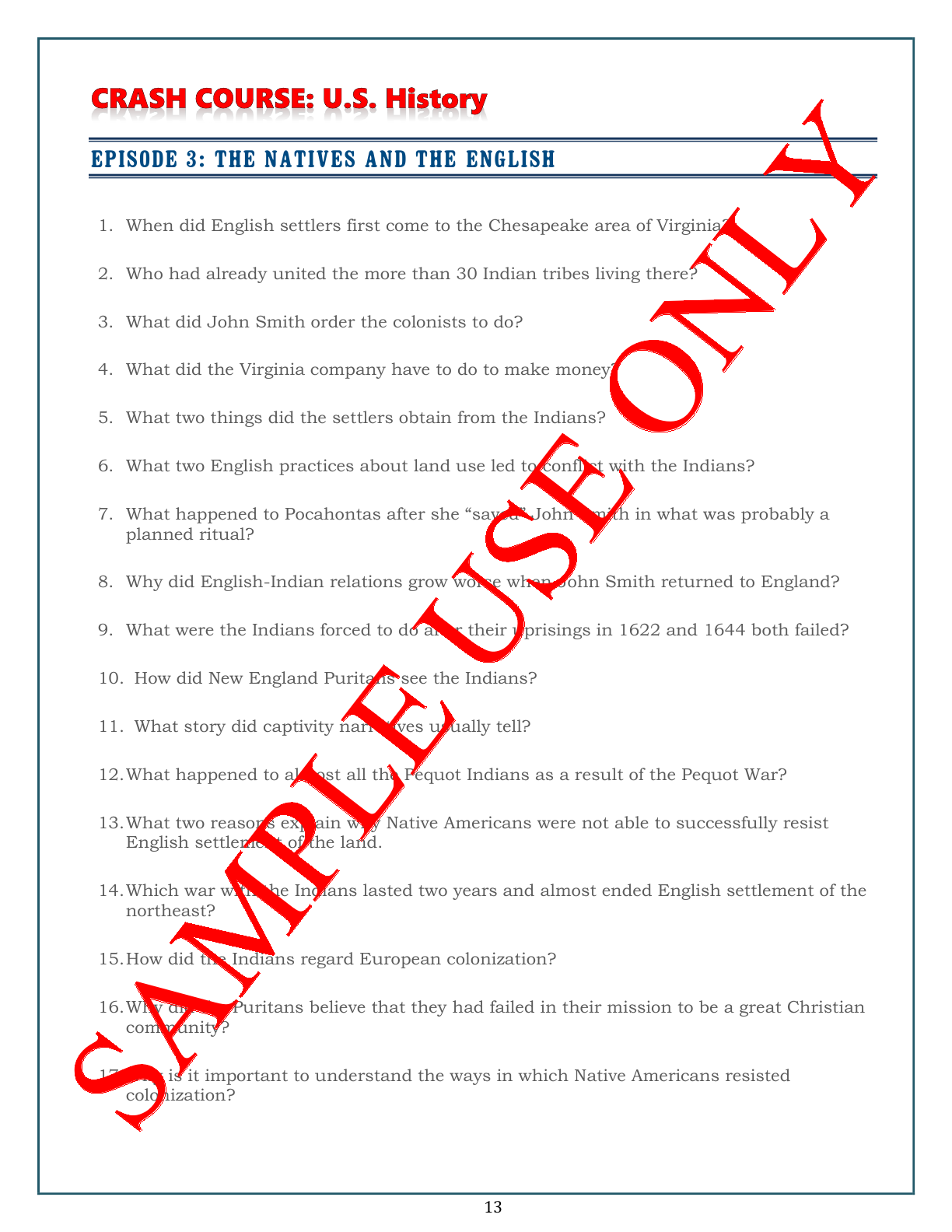 America The Story Of Us World War 2 Episode 10 Worksheet