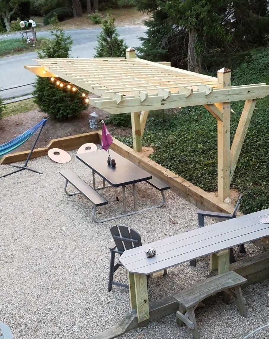 Photo of Ideas de pérgola para patio #PergolaAboveGarage