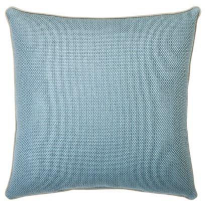 Threshold Basketweave Toss Pillow 18x18 Blue Toss Pillows Pillows Toss Pillows