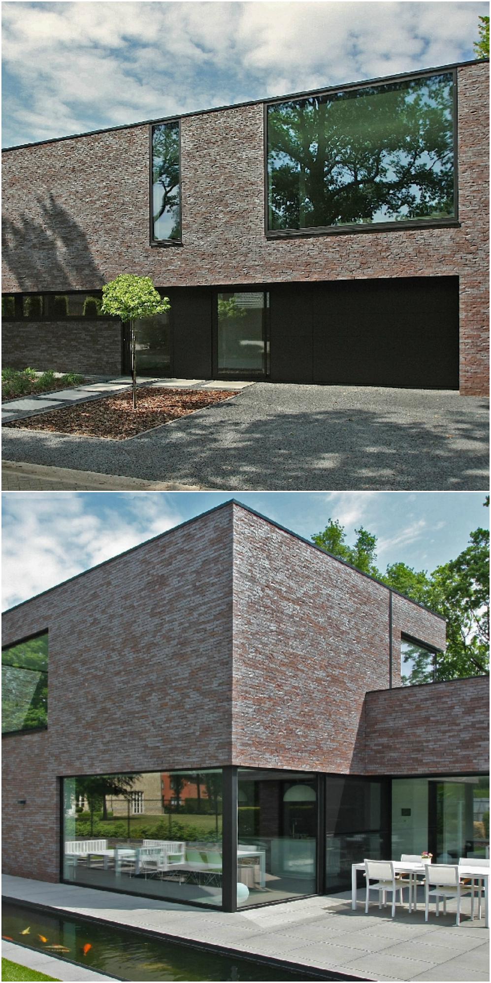 Twee generaties onder n energieneutraal dak architect for Hedendaagse architecten
