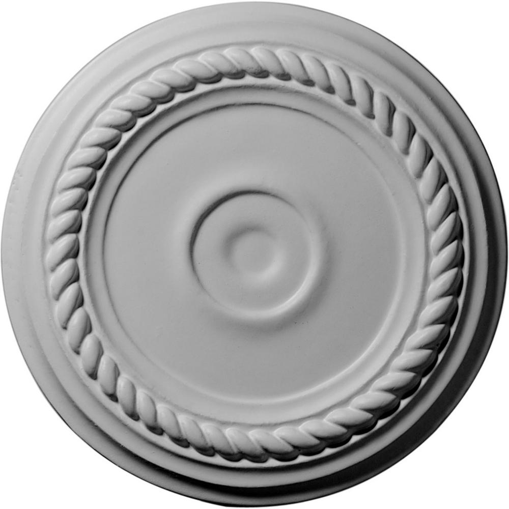Ekena Millwork 7 7 8 In X 3 4 In Small Alexandria Urethane Ceiling Medallion Fits Canopies Upto 4 5 8 In Cm07al Ceiling Medallions Millwork Ekena Millwork