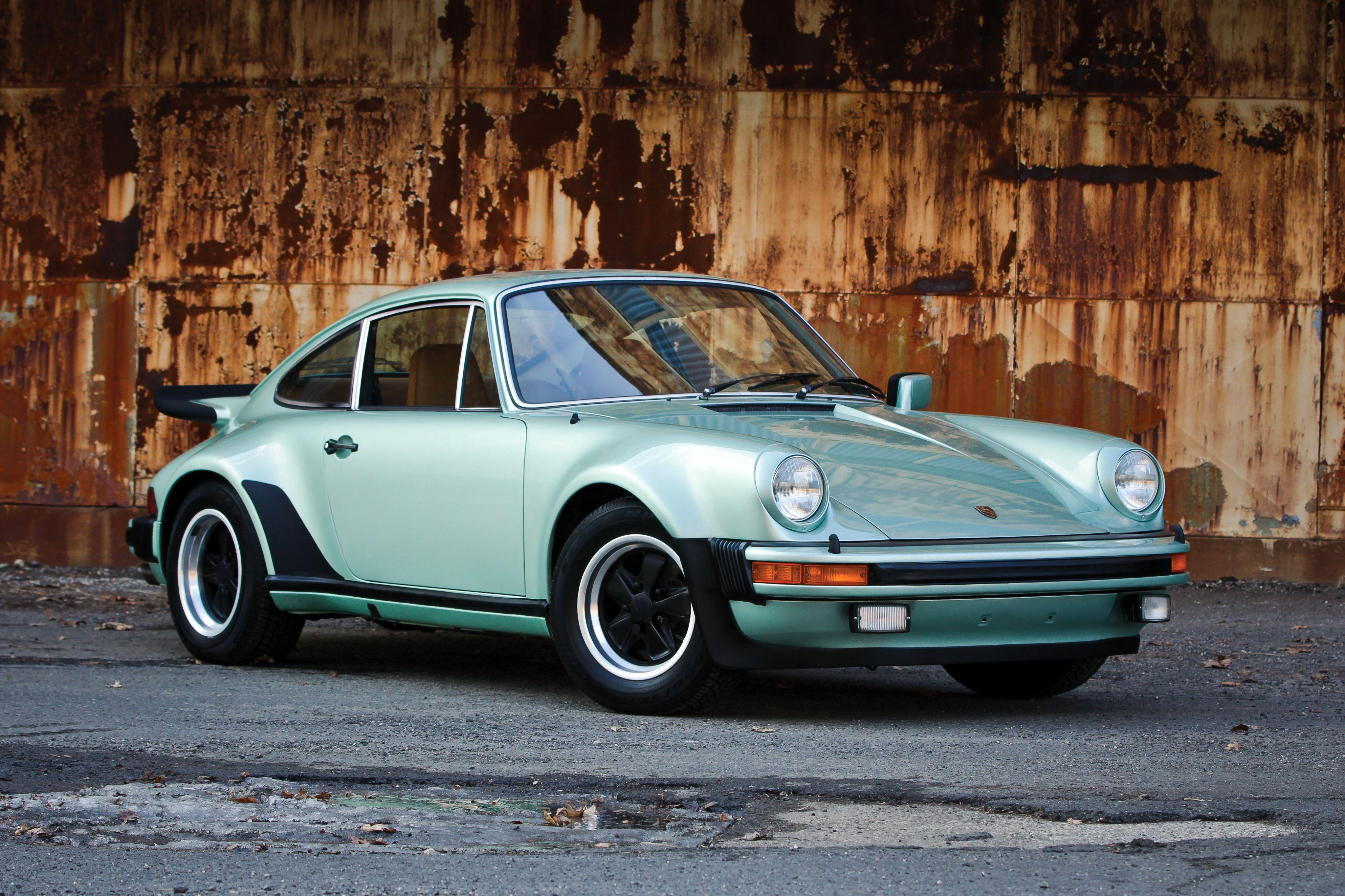 1976–77 930 ICE GREEN Porsche Cars, Porsche Sports Car, Porsche 911 Turbo