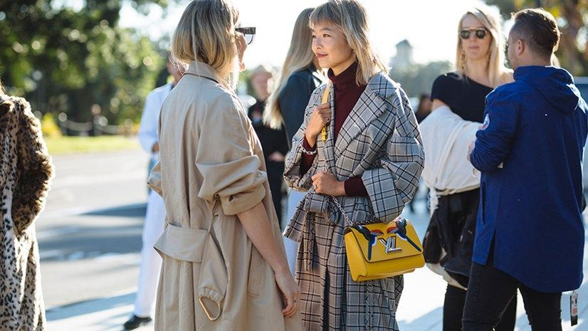Street Style Fashion Week Australia : Harper's BAZAAR