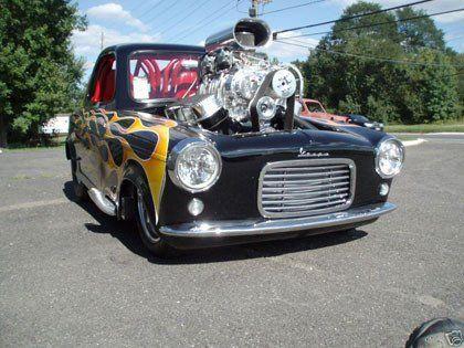 pro street rod | 1960 Vespa Prostreet Custom Hot Rod Microcar