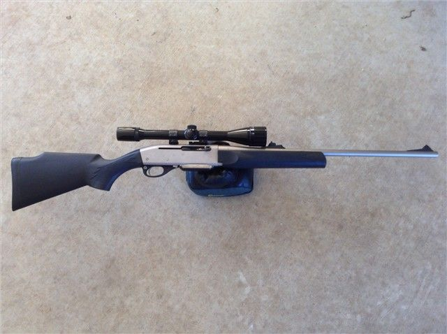 Remington 7400 Weathermaster Carbine 30-06 Nickel