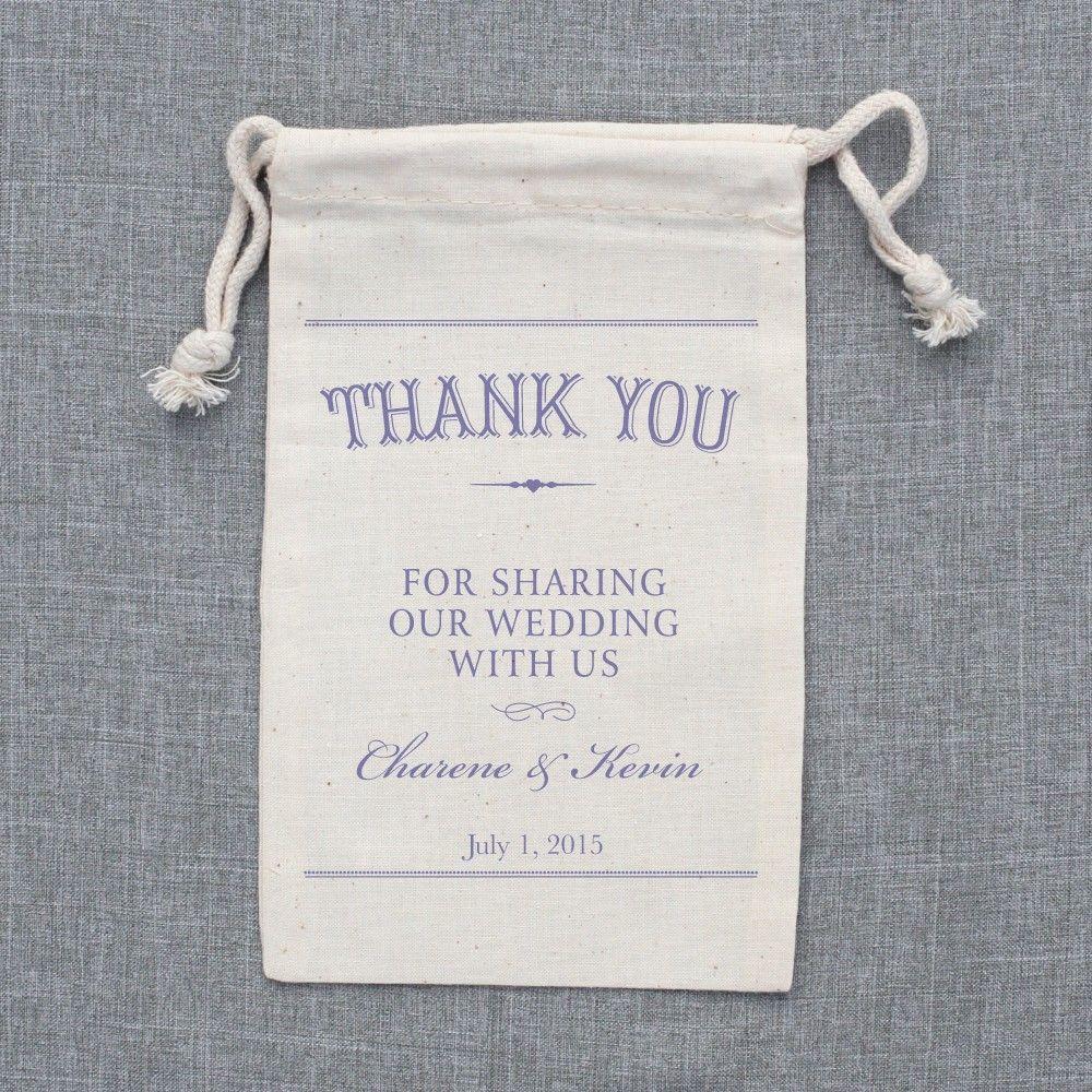 custom wedding favor bags | wedding chicks | big day | Pinterest ...