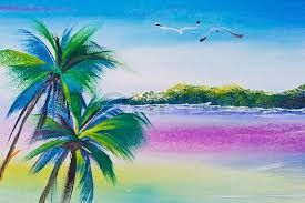 Image Result For Landscape Paintings With Poster Colours Landscape Paintings Landscape Painting