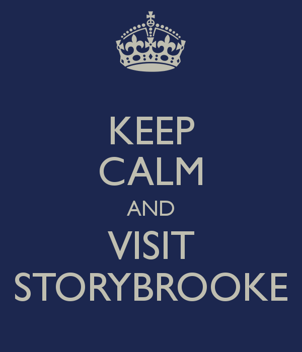 KEEP CALM AND VISIT STORYBROOKE
