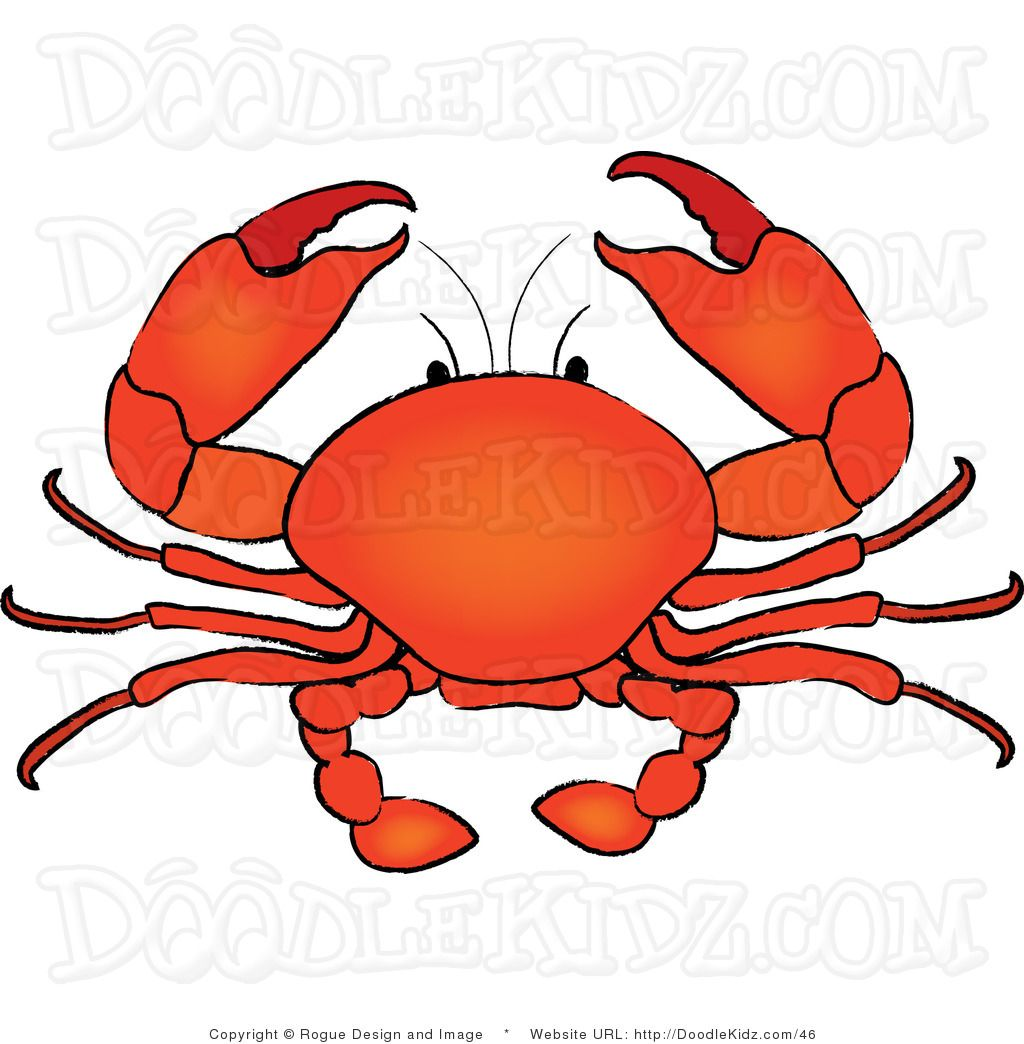small resolution of crab clip art crab clipart crab clip art clip art illustration of a seafood crab by