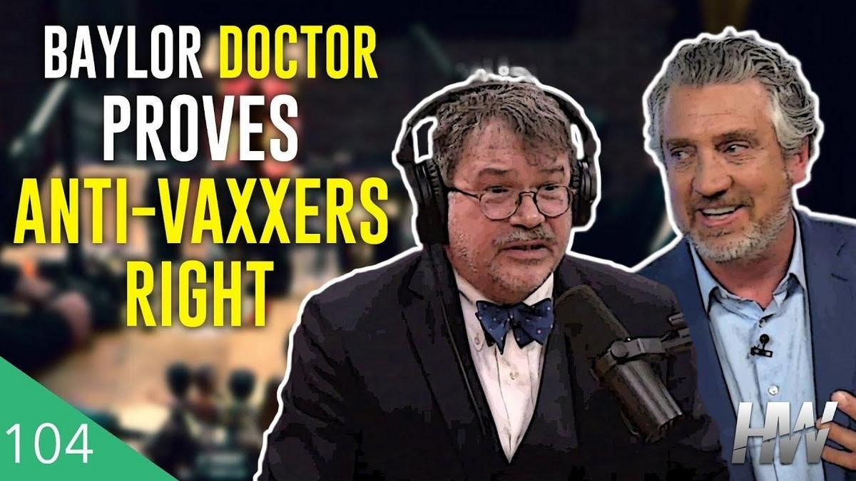 Interview Peter Hotez What Happens When >> Del Bigtree Fact Checks Joe Rogan S Interview With Dr Peter Hotez