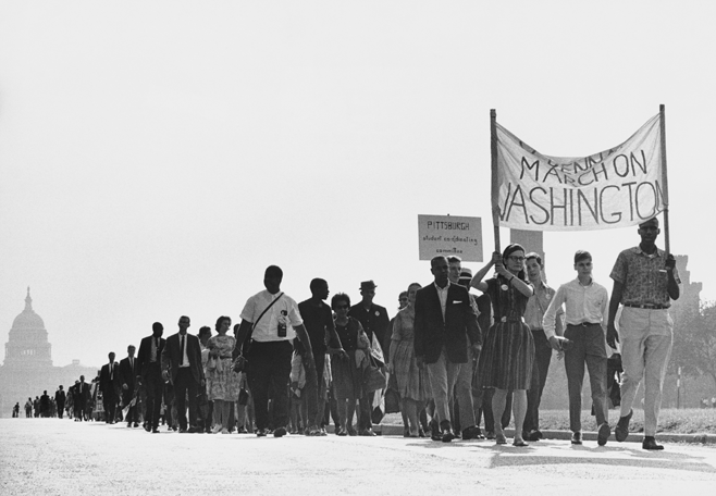 More than 250,000 people joined the 1963 March on Washington to peacefully demand an end to two centuries of discrimination and injustice. Learn more about this monumental event with the PBS Black Culture Connection.