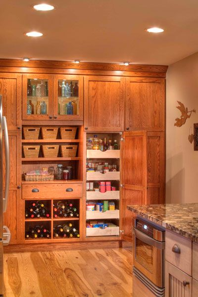 17 Best images about Cabinetry on Pinterest | Hickory kitchen ...