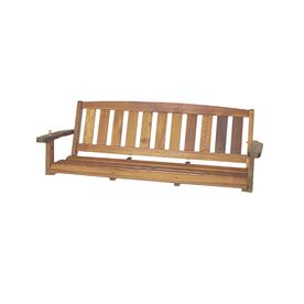 Great American Woodies 3 Seat Wood Traditional Cypress Swing Outdoor Lounge Furniture Porch