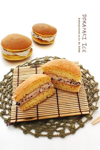 Dorayaki Ice | Bakingschool.co.kr