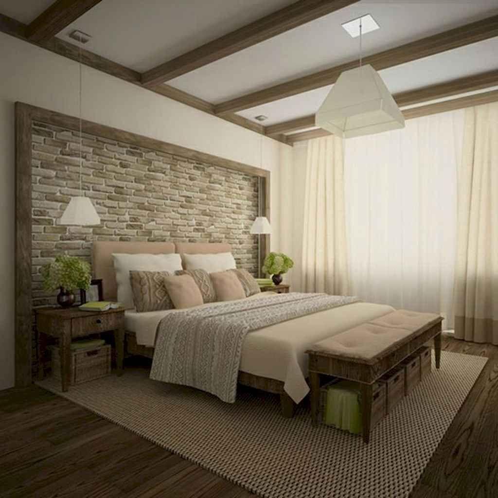 80 Awesome Modern Farmhouse Staircase Decor Ideas: 80 Rustic Farmhouse Bedroom Decorating Ideas