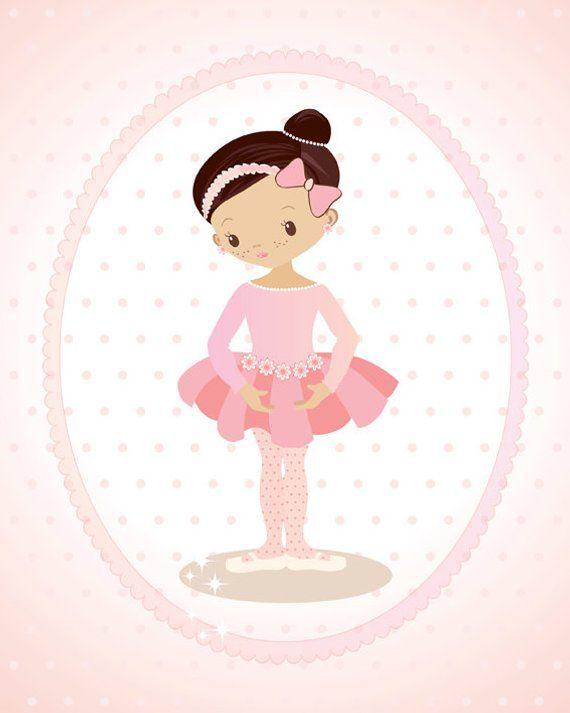 little ballerina pink nursery art ballet dancer girl nursery rh pinterest com