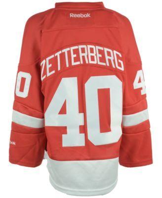 d47093ec1 Reebok Kids  Henrik Zetterberg Detroit Red Wings Replica Jersey ...