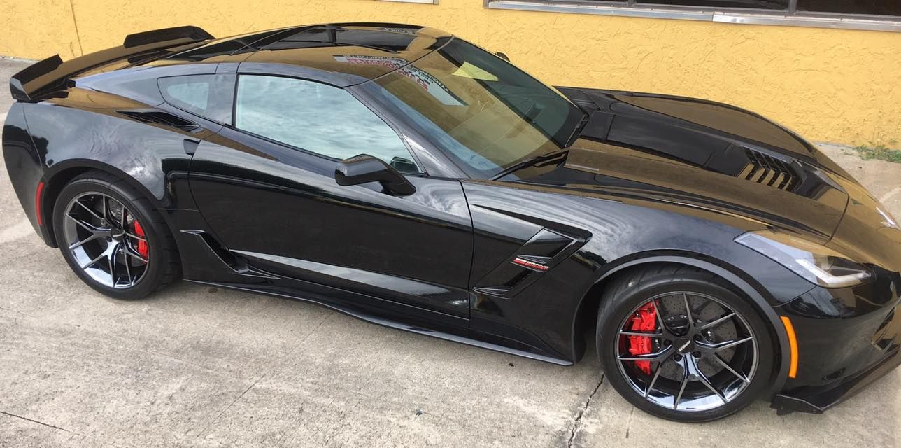 Is there room to make the c7 grand sport even better the performance shop at horsepower sales of florida is responsible for tuning joe s gorgeous new 2017