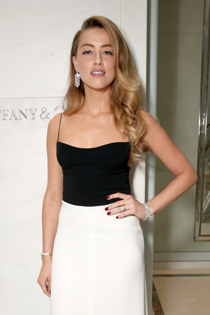 Amber Heard Photos Photos Celebs Attend The Tiffany Co Cocktail Party Amber Heard Hair Amber Heard Amber Heard Photos