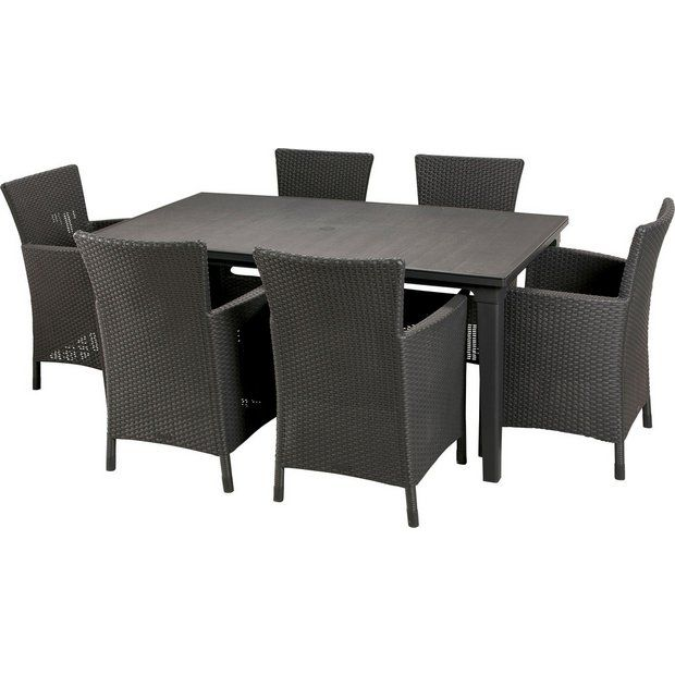 6 seater dining set - £289.99