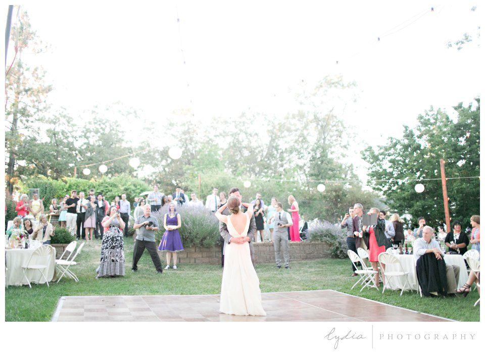 wedding locations north california%0A destination garden party wedding at Lucchesi Vineyards in Grass Valley   California