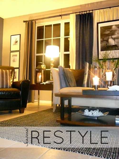Tips & Tricks for your Seasonal Restyle by Lynda Quintero-Davids @Russell Middleton Imagery http://nyclq-focalpoint.blogspot.com/p/seasonal-decor.html #Seasonal #HomeDecor #Decorating #ReStyle