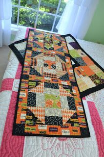 closet crafter halloween quilt and table runner diy fabric rh pinterest de