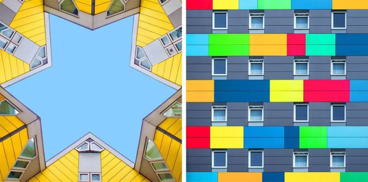 Ramin Nasibov – This graphic designer shoots simple buildings in a most stylish way
