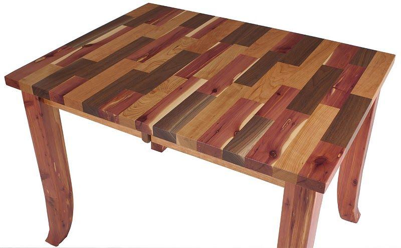 pennsylvania mixed wood table 1 michael s interests wood table rh pinterest com
