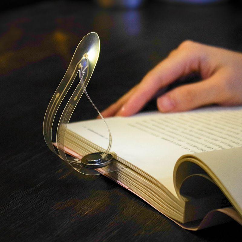 Janpim Cool Bookmark Clip On Book Light Book Lights Led Strip