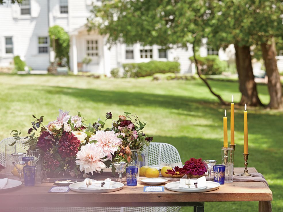 bridal shower themes for spring%0A Get Inspired by This Chic FarmtoTable Bridal Shower Luncheon   Photo by
