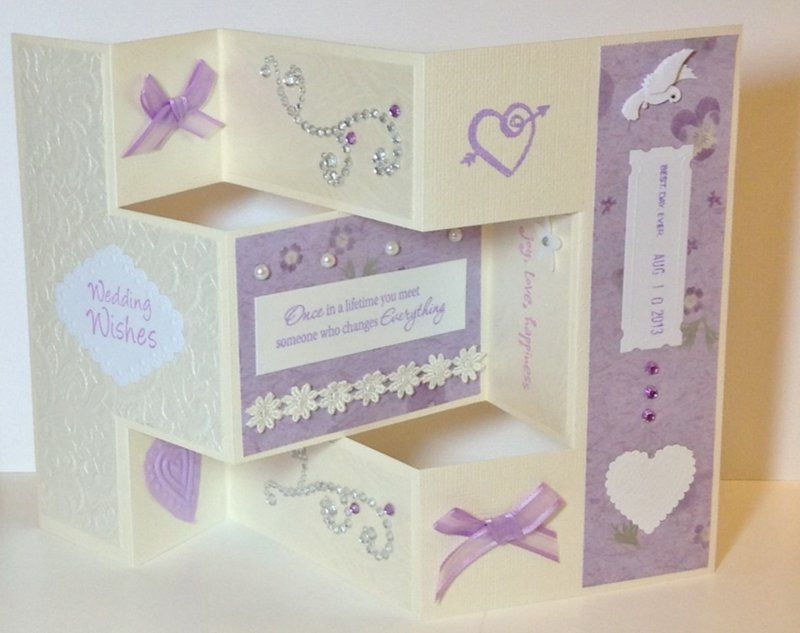 wedding anniversary card pictures%0A Shutterfold wedding card