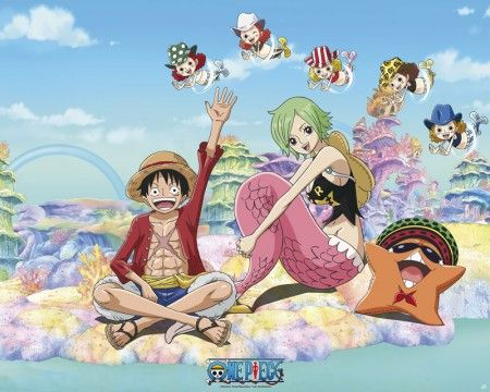 Poster affiche One Piece Luffy Camie Pappug | ワンピース アニメ ...