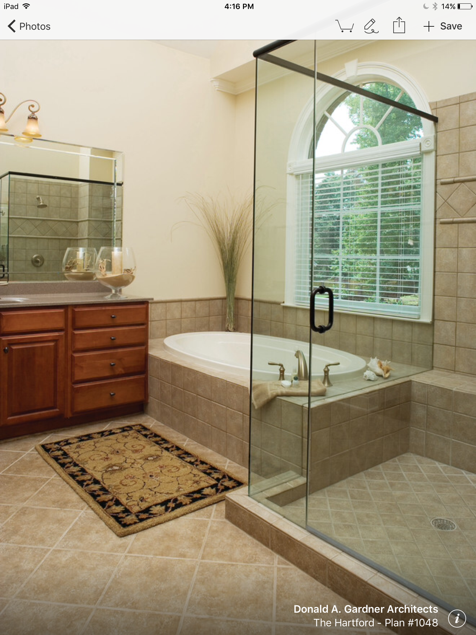 photos of remodeled bathrooms%0A The Hartford  Plan  traditional  bathroom  charlotte  by Donald A